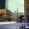 End of Day Architecture : Milwaukee Cityscape Medium Format Color Film