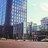 Glass and Mirror Architecture : Milwaukee Cityscape Medium Format Color Film