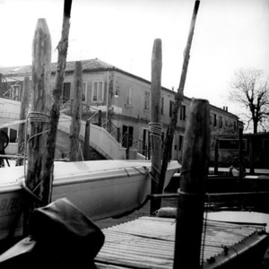 A View of Venice 1 :Italy beyond 70mm. Photographs taken on 80mm (Medium format film)