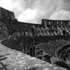 Colosseum in Rome 3:Italy beyond 70mm. Photographs taken on 80mm (Medium format film)