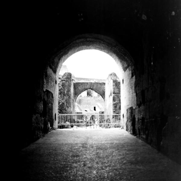 Colosseum in Rome 9:Italy beyond 70mm. Photographs taken on 80mm (Medium format film)