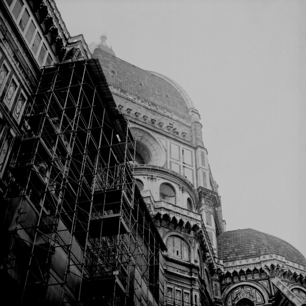 Duomo Florence Cathedral 3 :Italy beyond 70mm. Photographs taken on 80mm (Medium format film)