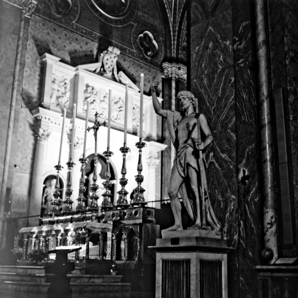 Cathedral in Rome  1:Italy beyond 70mm. Photographs taken on 80mm (Medium format film)