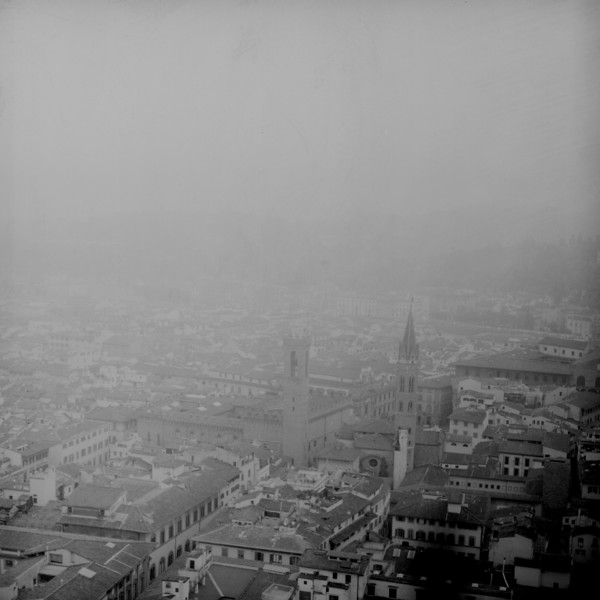 Florence Fog :Italy beyond 70mm. Photographs taken on 80mm (Medium format film)