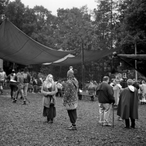 Renaissance Festival Medium Format Photograph 2