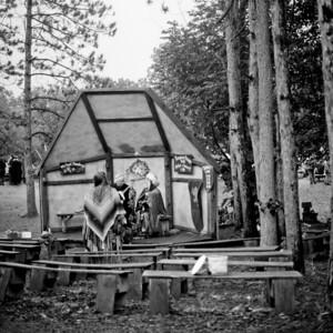 Renaissance Festival Medium Format Photograph 8
