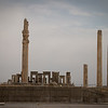 The ruins of Persepolis (5th century B.C.).