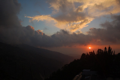 Despite the previous photo, haiti is a beautiful country. This is a sunset from my own room at wings. Despite all the massive poverty in Haiti, it is one of the most natural, beautiful places.