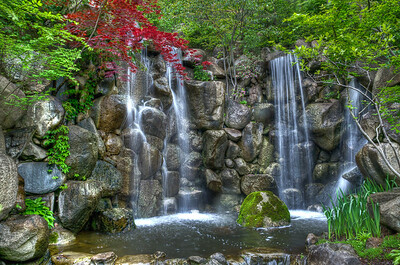 Falls at the Garden
