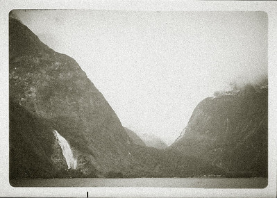 Milford Sound, Christmas 1982