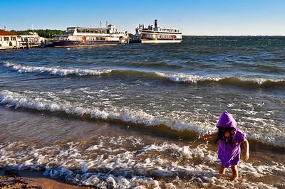 The Kid In the Purple Hoodie