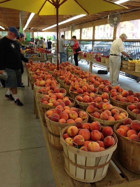 Michigan peaches