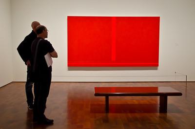 Men Staring at Art