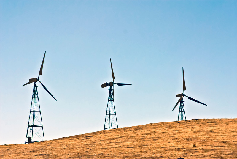 Three turbines