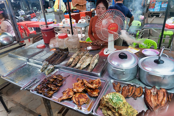 Street Food in Siem Reap, Cambodia