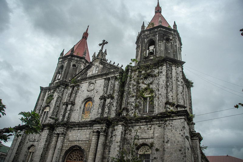 The church in Molo, Iloilo City.