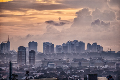 View from the hills of Antipolo