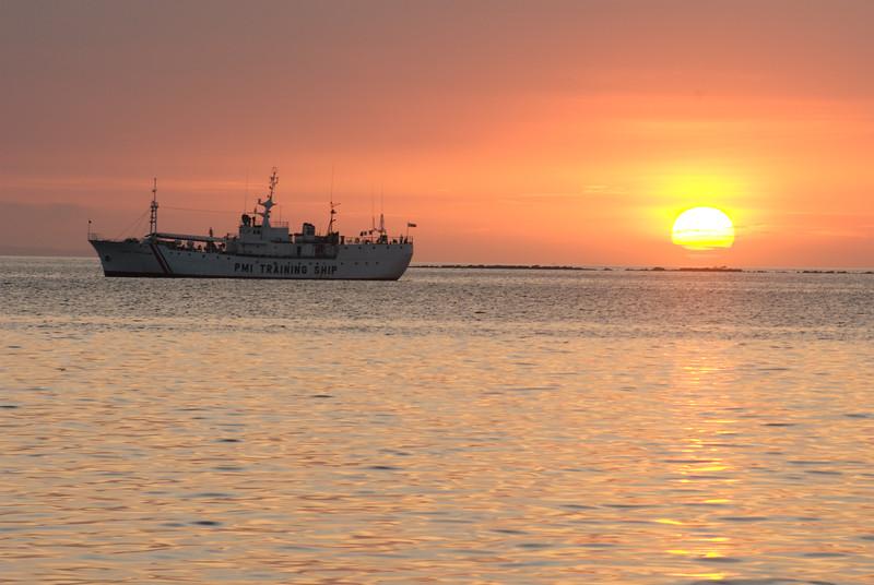 Sunset at Manila Bay