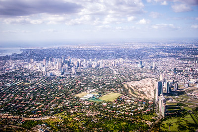 Urban Sprawl, Makati and Taguig Cities