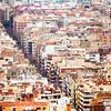 Crowded Barcelona