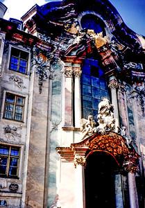 A really old baroque church