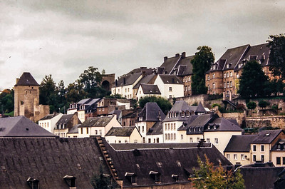 Throwback-  Luxembourg City ca 1999