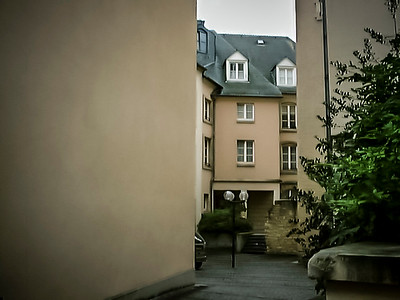 The streets of Luxembourg