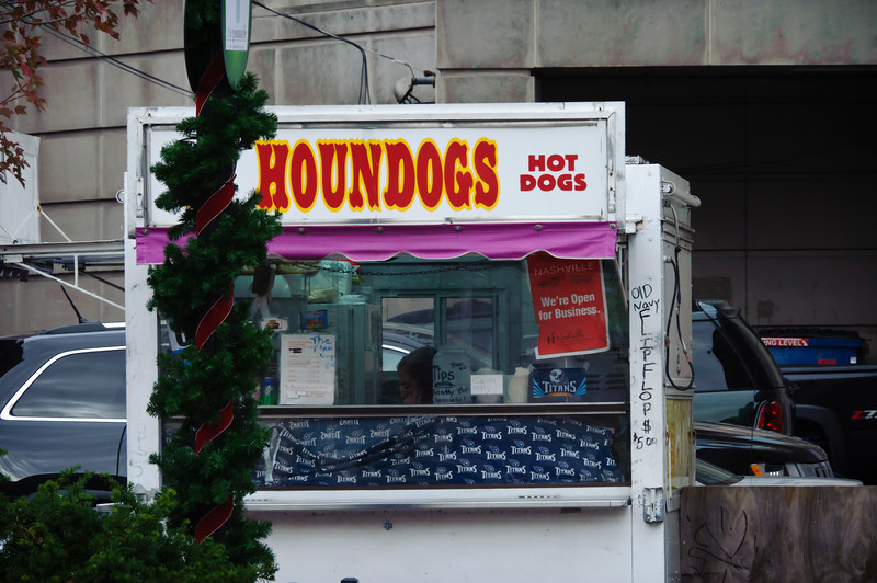You ain't nothin' but a houndog