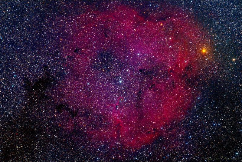 Elephant's Trunk Nebula IC 1396 (Natural colors)