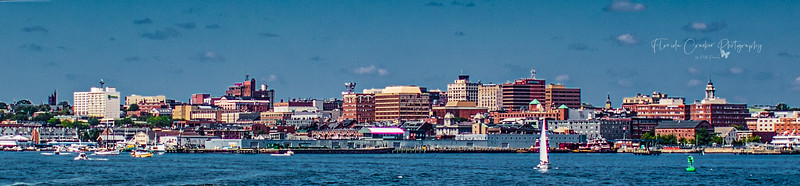 Downtown Portland (view from Casco Bay)