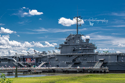 USS Yorktown Aircraft Carrier