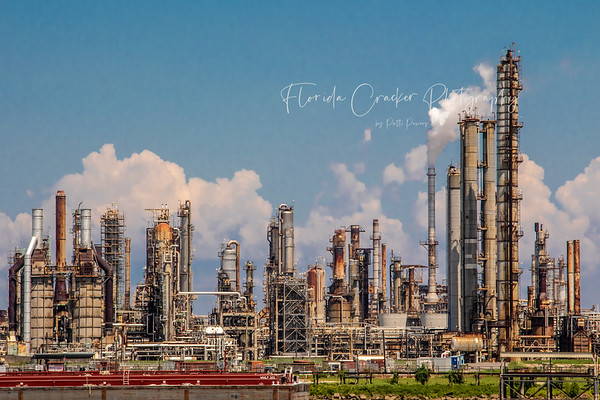 Oil Refinery on the Mississippi