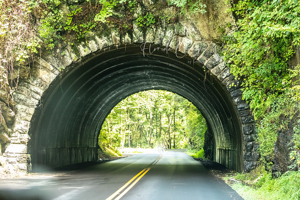 Tunnel in Great Smoky Mountain National Park