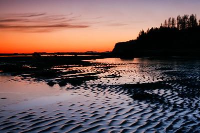 "ALASKA 04890  ""Low Tide on Kachemak Bay""  Homer, AK"