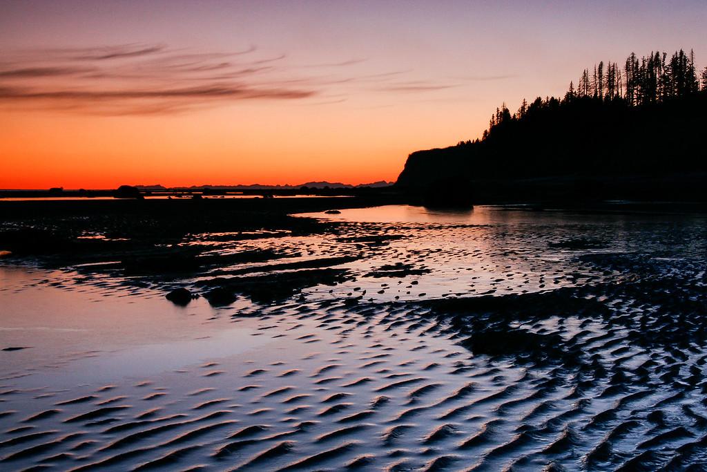 """ALASKA 04890<br /> <br /> """"Low Tide on Kachemak Bay""""<br /> <br /> Homer, AK"""