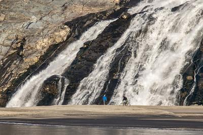 ALASKA 8661  "Nugget Falls"  Juneau, AK
