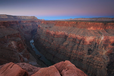 "ARIZONA 9973  ""Dusk at Toroweap""  Grand Canyon National Park"
