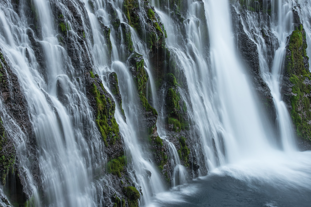 "CALIFORNIA 2278<br /> <br /> ""Burney Falls""<br /> <br /> McArthur-Burney Falls Memorial State Park"
