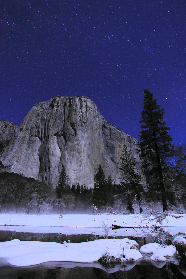 "CALIFORNIA 3910<br /> <br /> ""Christmas in Yosemite"""