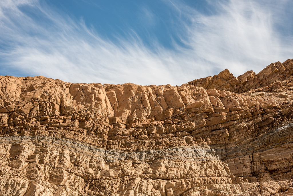 "CALIFORNIA 1840<br /> <br /> ""Rock Layers - Mosaic Canyon""<br /> <br /> Death Valley National Park"