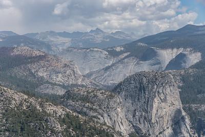 """CALIFORNIA 0011  """"A sea of granite""""  Yosemite National Park"""