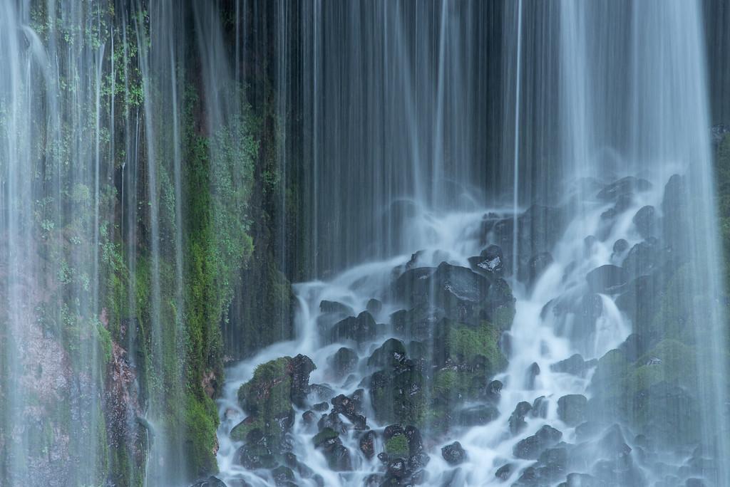 "CALIFORNIA 2246<br /> <br /> ""Burney Falls""<br /> <br /> McArthur-Burney Falls Memorial State Park"