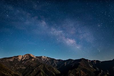 """Milky Way over the Sierra Foothills"""