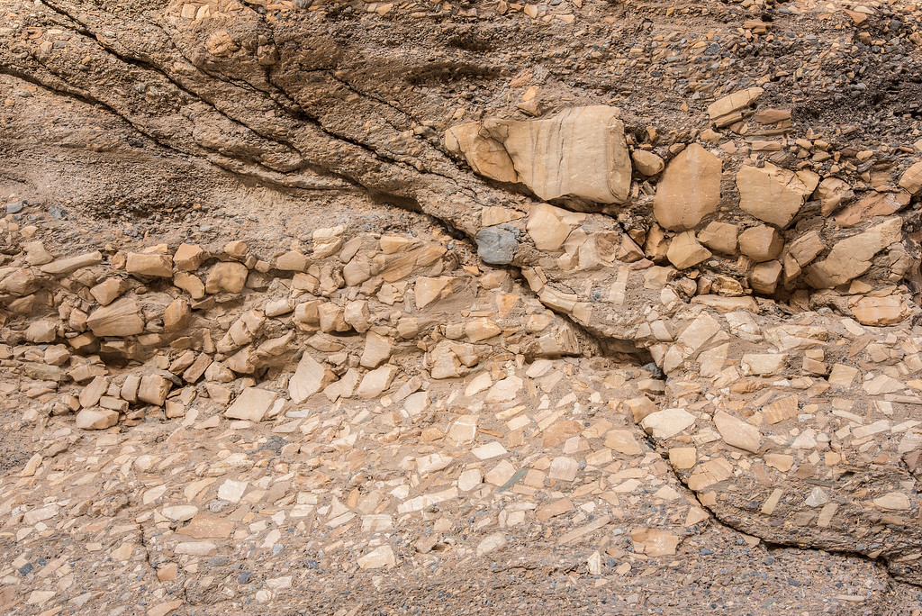 "CALIFORNIA 1790<br /> <br /> ""Canyon Wall Mosaic""<br /> <br /> Mosaic Canyon - Death Valley National Park"