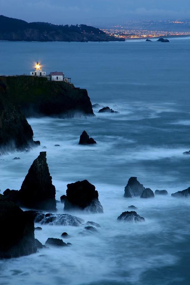 "CALIFORNIA 0271<br /> <br /> ""Point Bonita""<br /> <br /> Golden Gate National Recreation Area, San Francisco"