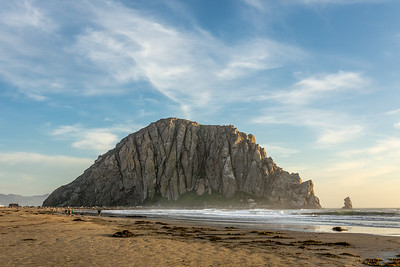 """Evening at Morro Rock"""