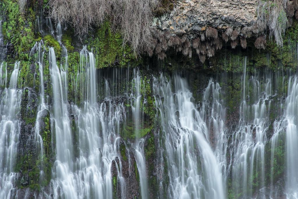 "CALIFORNIA 2299<br /> <br /> ""Burney Falls""<br /> <br /> McArthur-Burney Falls Memorial State Park"