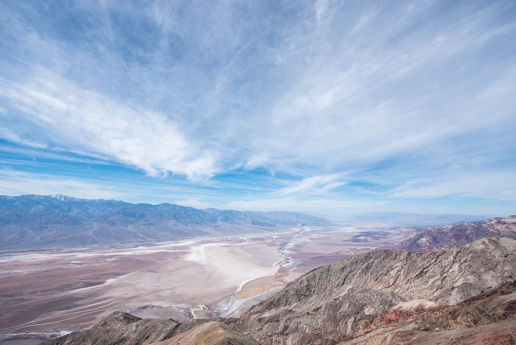 "CALIFORNIA 1457<br /> <br /> ""Dante's View""<br /> <br /> Death Valley National Park"