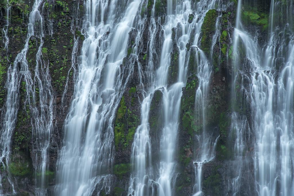 "CALIFORNIA 2256<br /> <br /> ""Burney Falls""<br /> <br /> McArthur-Burney Falls Memorial State Park"