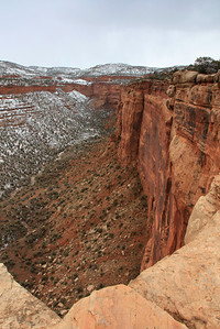 "COLORADO 8016  ""A long way down""  Colorado National Monument"
